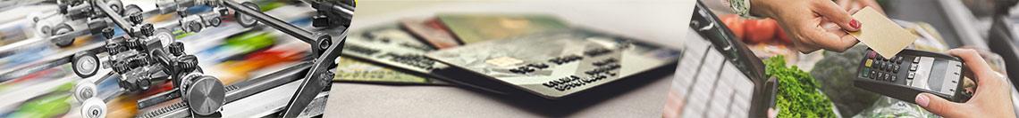 Plastikkarten bedrucken im Bogenoffsetverfahren