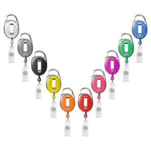 Badge Reels and Clips
